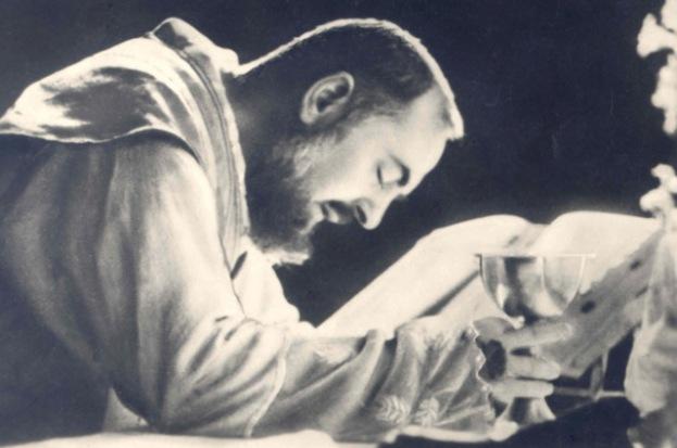 holy mass padre pio
