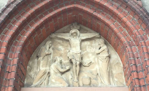 Crucifixion of Christ - Gothic Scultpture