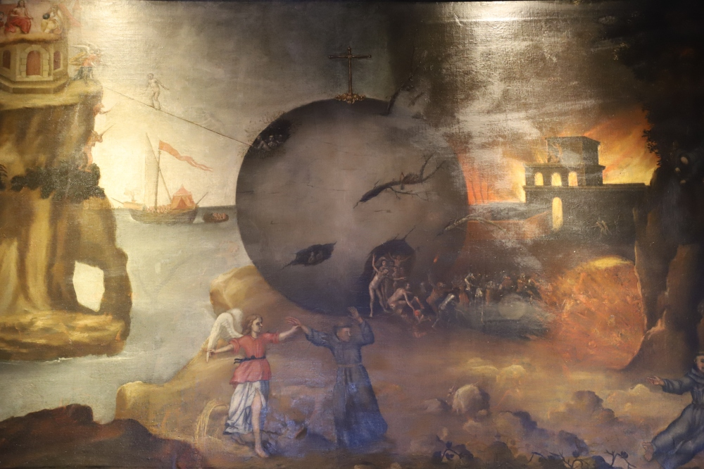 Passage from this Life to Eternity by Hieronymus Bosch 1 - Convent of San Diego, Quito.